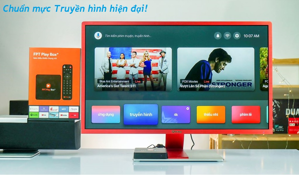 giao diện fpt play box